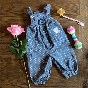 Sweet little girls overalls
